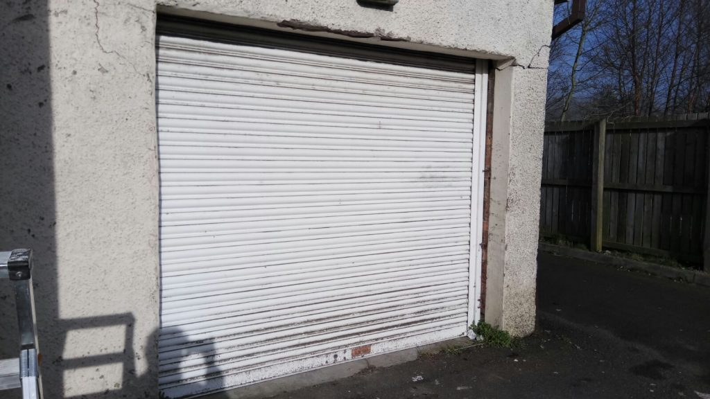 Shop Front and Roller Shutter Spraying
